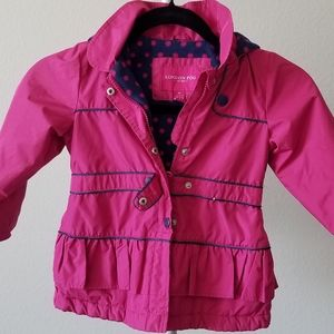 LONDON FOG Pink Puffer Jacket 4T